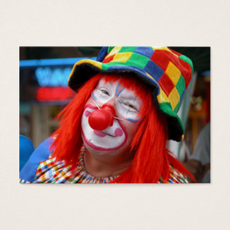 Send In The Clown Business Card