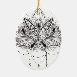 Send it ceramic ornament