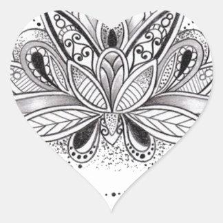 Send it heart sticker