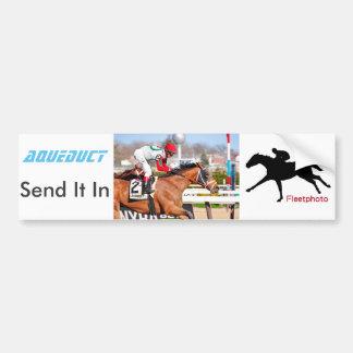 Send It In - John Velasquez Bumper Sticker