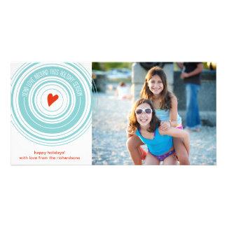 Send Love Around Photo Cards