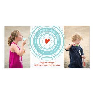 Send Love Around x2 Customised Photo Card