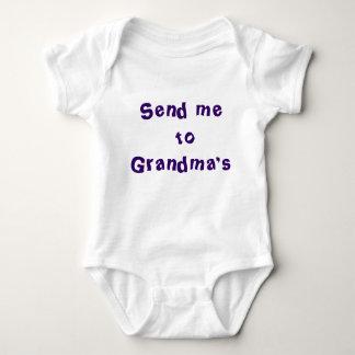 Send me to Grandma's Baby Bodysuit