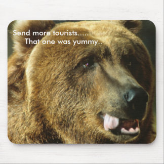 Send more tourist mouse pad