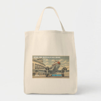 SEND REPUBLICANS HOME TO STAY TOTE BAG