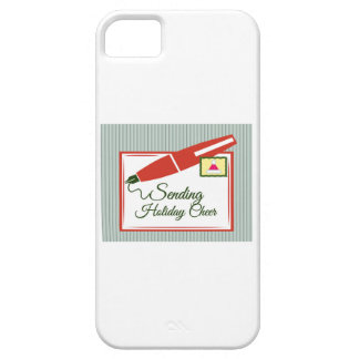 Sending Holiday Cheer Cover For iPhone 5/5S