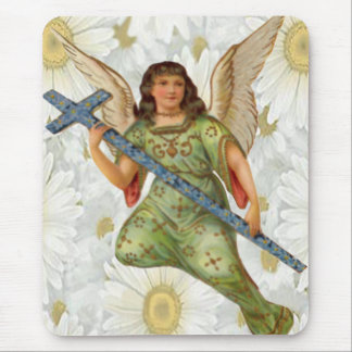 Sending Message Angel Mouse Pad