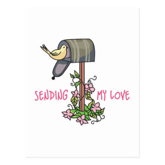 SENDING MY LOVE POSTCARD