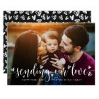 Sending our Love | Valentine's Day Photo Card
