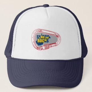 Seneca Rocks Climbing Carabiner Trucker Hat