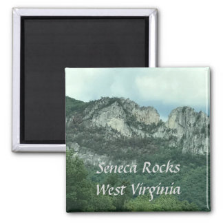 Seneca Rocks West Virginia Template Magnets