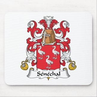 Senechal Family Crest Mouse Pad