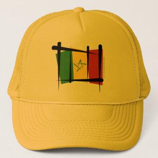 Senegal Brush Flag Trucker Hat