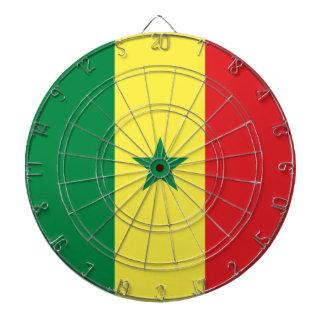 Senegal Flag Dartboard