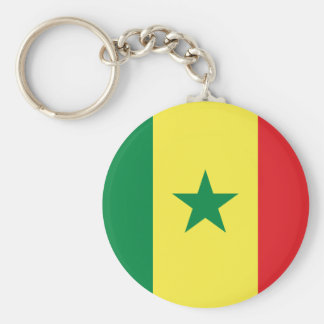 Senegal Flag Key Ring
