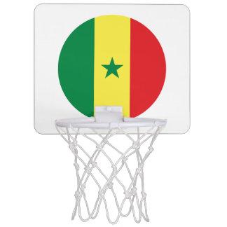 Senegal Flag Mini Basketball Hoop