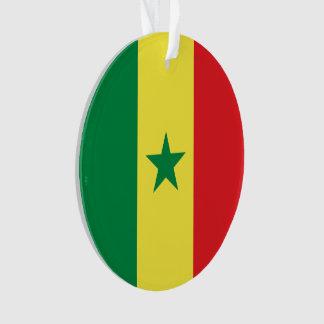 Senegal Flag Ornament