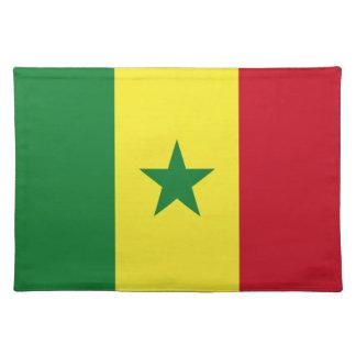 Senegal flag placemat