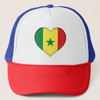 Senegal Flag Trucker Hat