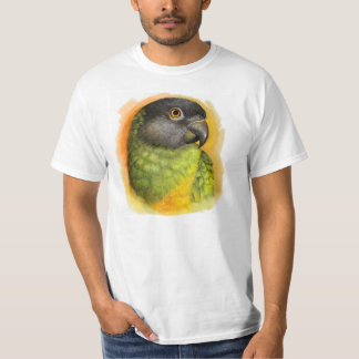 Senegal parrot realistic painting shirts