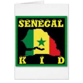 Senegal T-Shirt urban Wear Greeting Cards