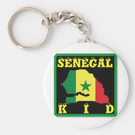 Senegal T-Shirt (urban Wear) Key Chain