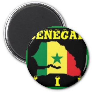 Senegal T-Shirt urban Wear Refrigerator Magnets