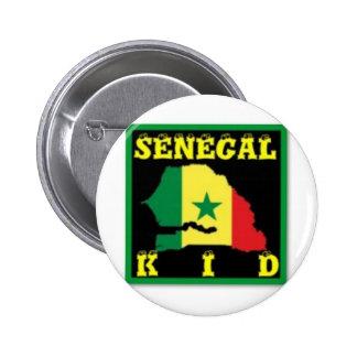 Senegal T-Shirt urban Wear Pinback Buttons