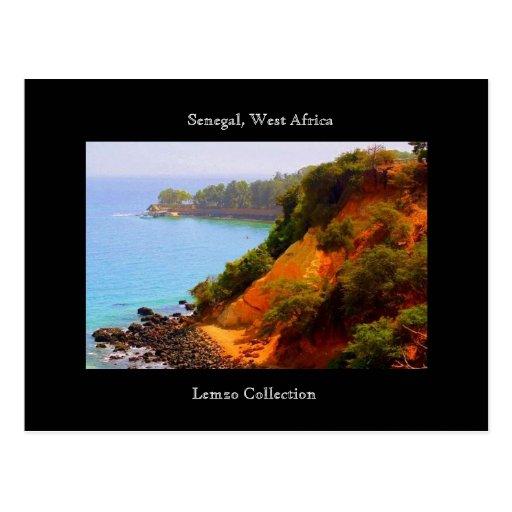 Senegal, West Africa Ocean View Postcard