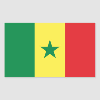 Senegalese flag Stickers