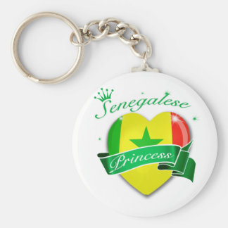 Senegalese Princess Key Ring