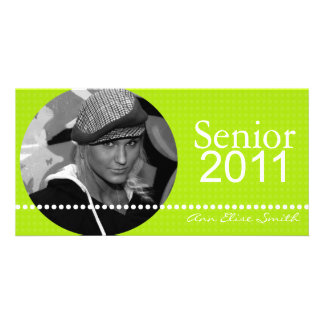 Senior 2011 Personalised Announcement Photocard Personalized Photo Card