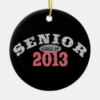 Senior 2013 Red Christmas Tree Ornament