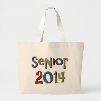 Senior 2014 jumbo tote bag
