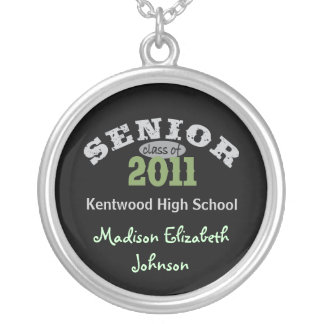 Senior Class of 2011 Silver Plated Necklace