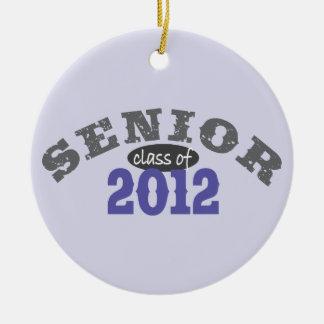 Senior Class of 2012 Round Ceramic Decoration