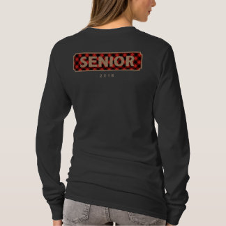 Senior Class of 2018 Burlap + Buffalo Plaid T-Shirt