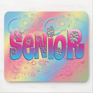 Senior - Flowers 2 Mouse Pad