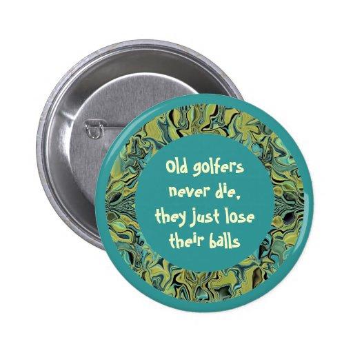 senior golfers joke buttons