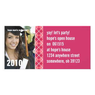 Senior Pictures - 2010 Graduation Invitation Custom Photo Card