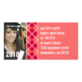 Senior Pictures - 2010 Graduation Invitation Personalized Photo Card