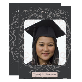 Senior Portrait Photo Graduaton Party Invite