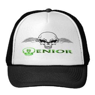 Senior - Skull Wings Trucker Hat