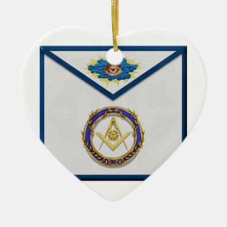 seniordeaconMasonic Senior Deacon Apronapron Ceramic Ornament