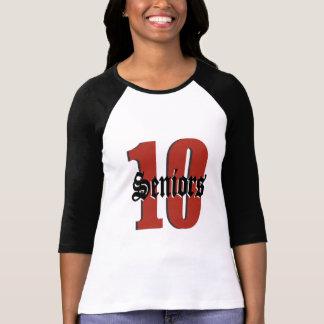 Seniors 10 t shirts