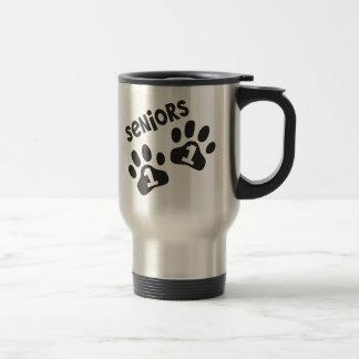 Seniors '11 Paw Prints Mugs