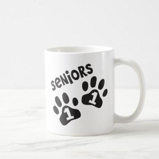 Seniors '11 Paw Prints Mug