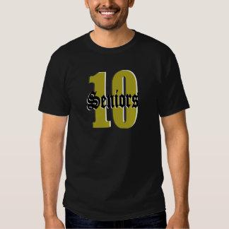 Seniors Class of 2010/ Gold Tee Shirt