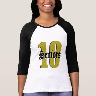 Seniors Class of 2010/ Gold Tshirts