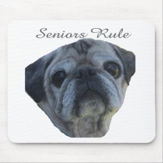seniors rule mouse pad